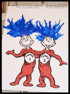 Dr Seuss Day decorations/art