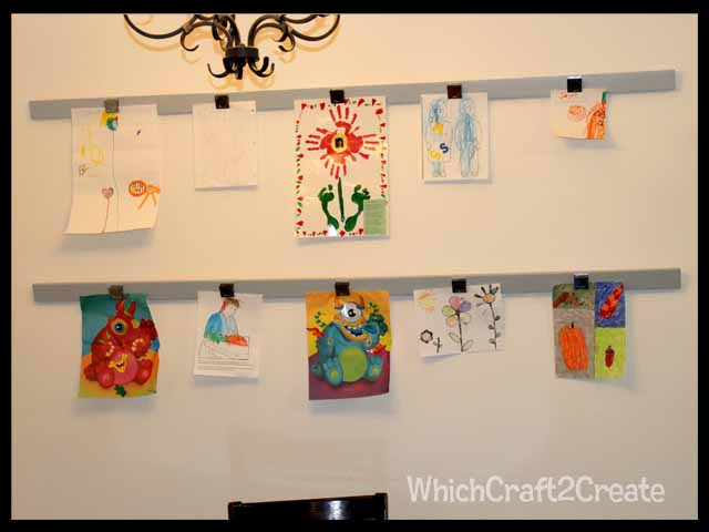 Kids Art Display | Which~Craft 2 Create?