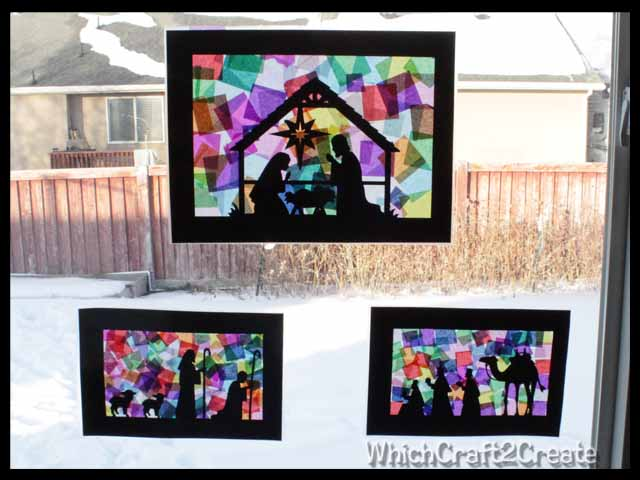 Stained Glass Nativities Which Craft 2 Create